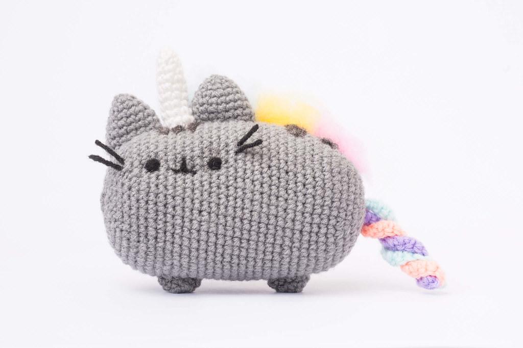 Amigurumi Pattern: Pusheenicorn - Pusheen Unicorn Cat - Tarturumies | 682x1024