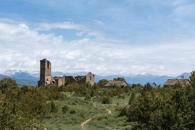 Morcat (Comarque de Sobrarbe, Aragon, Huesca, Espagne)