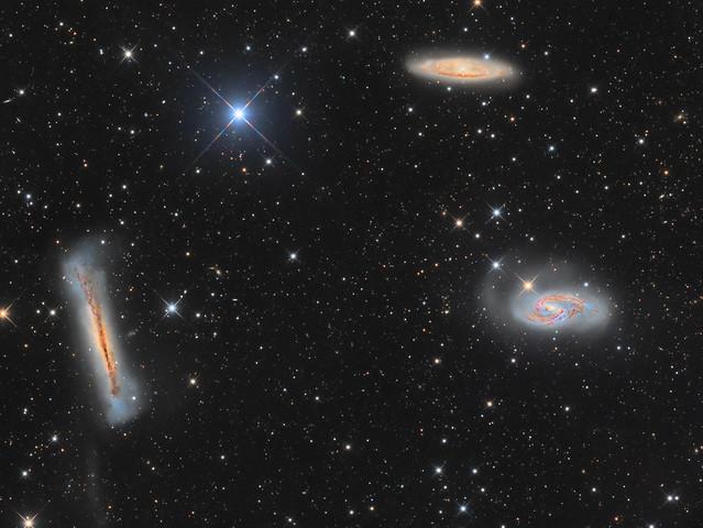 Leo Trio (M65, M66 and NGC3628) - v.2018