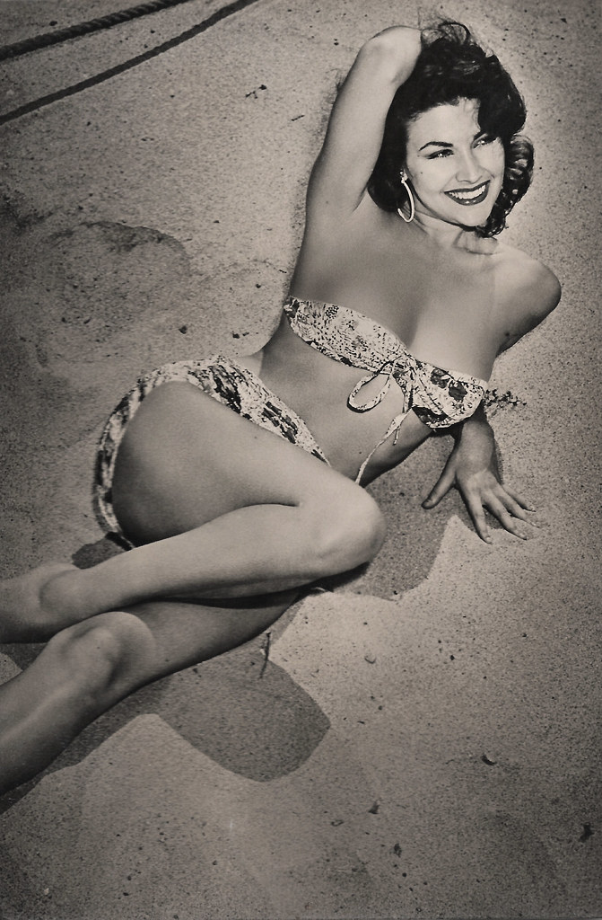 Mara Corday | Spanish postcard, no. 39. American actress