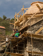 Renovation of Dadivank monastery