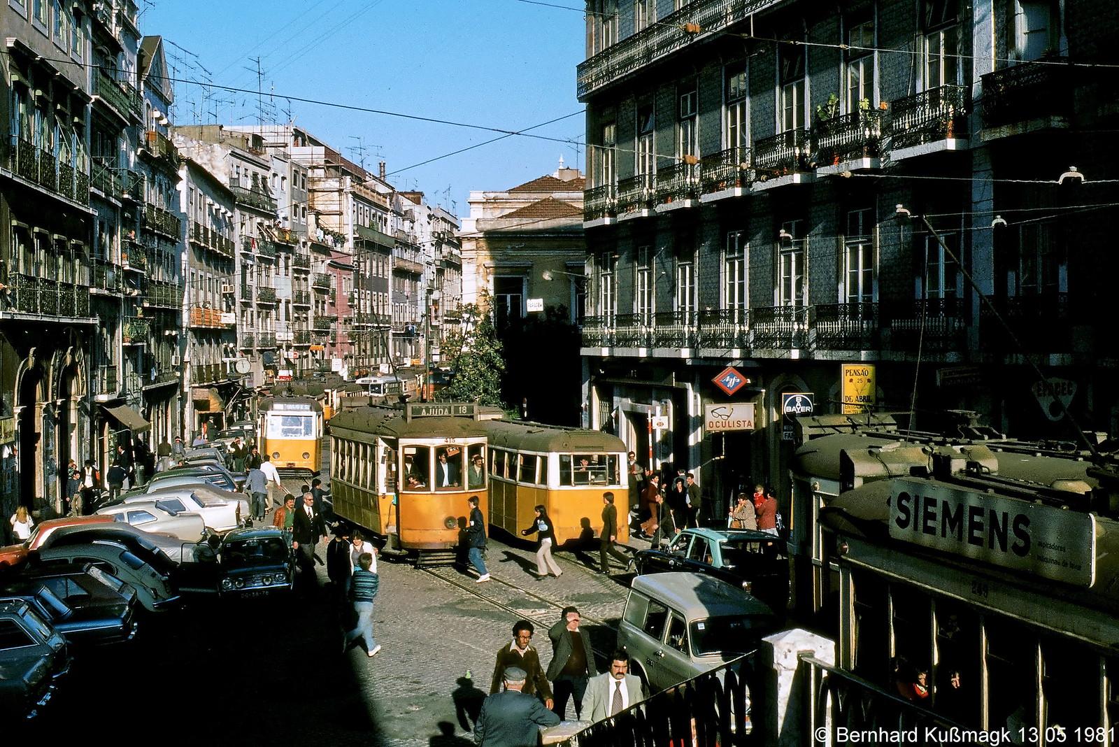 Rua de São Paulo, Lisboa (B. Kussmagk, 1981)
