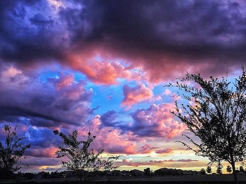 sunset sunsets orlando waltdisneyworld championsgate fourcorners clouds sky skies cloudy purple pink pinksky pinkskies briannapitts briannapittsphotography brilovesdisney brianna florida