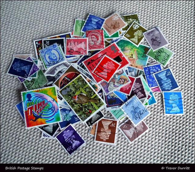 British Postage Stamps P1060940
