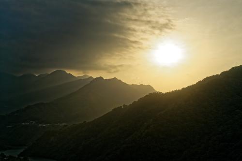 2018 01 jan 一月 北橫 trip travel 旅遊 角板山 公園 park 復興 dusk sunset 黃昏 日落 夕照