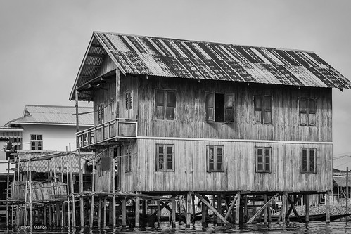 Stilt house in floating village - Lake Inle, Myanmar | by Phil Marion (179 million views - THANKS)