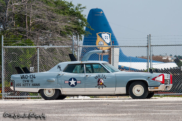 VAQ-134 Squadron Car | Lincoln Continental | National Naval Aviation Museum