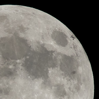 International Space Station Lunar Transit (NHQ201801300001) | by NASA HQ PHOTO
