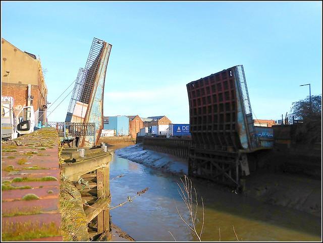 Scott Street Bridge in Hull..