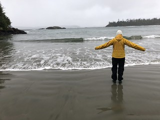 Tofino - Linda on the beach | by Pierre Yeremian