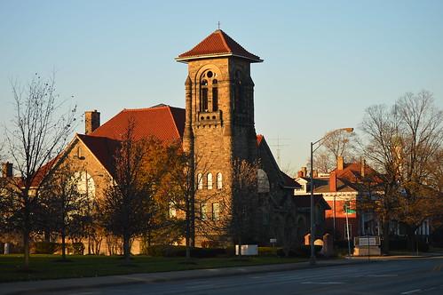 ethiopian orthodox church columbus ohio broad street morning sunrise