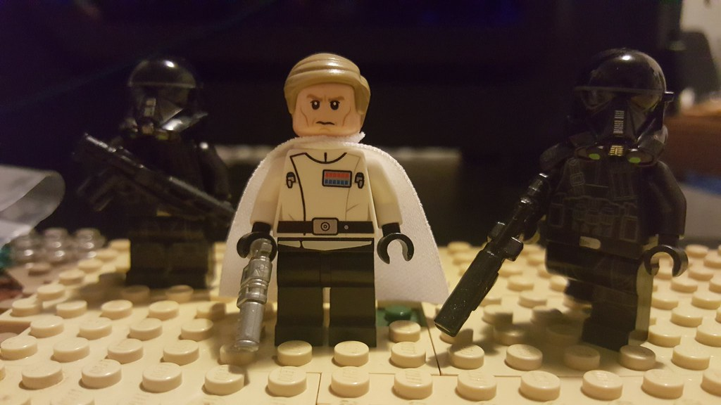Lego Director Krennic and Death Troopers