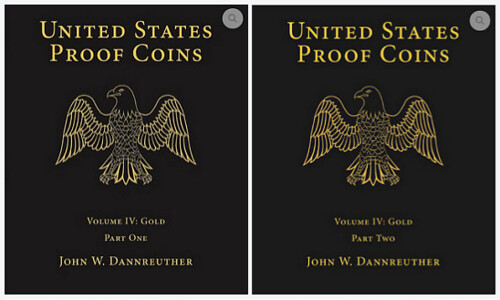 United States Proof Coins volume 4 covers | by Numismatic Bibliomania Society