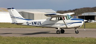 Cessna F172H Skyhawk, G-AWUX Lee on Solent Airfield 2018 | by SupaSmokey