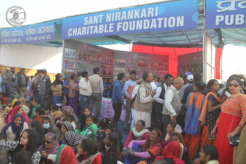Pavilion of Sant Nirankari Charitable Foundation