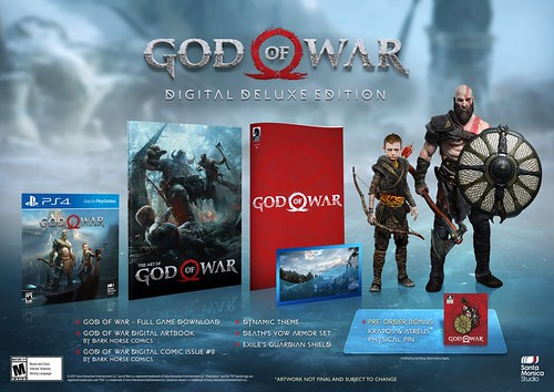 God of War: Digital Deluxe Edition | by PlayStation.Blog