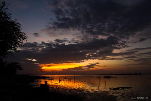 asia cambodia cambodge sunset phnompenh asie coucher de soleil sun