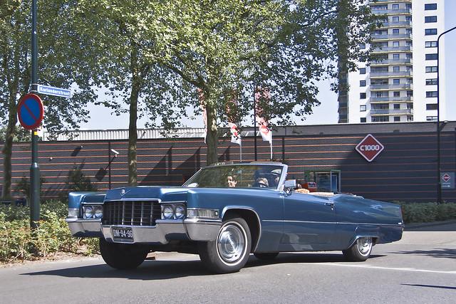 Cadillac DeVille Convertible 1969 (6876)
