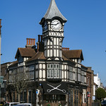 Ernest Smith Clock Tower, Castle Street, Southsea, Portsmouth, Hampshire, UK