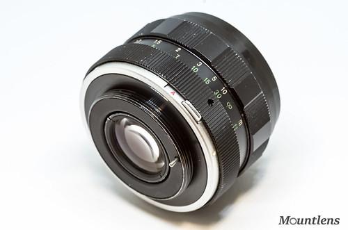 Cosinon Auto 50mm F1 8 - Mountlens