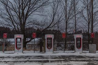 Tesla Supercharger Station | by Tony Webster