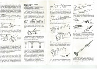 Estes Challenger-1 (1416) Starter Set Instructions (as printed) Pgs. 3 & 14 | by Model Rockets Rock!