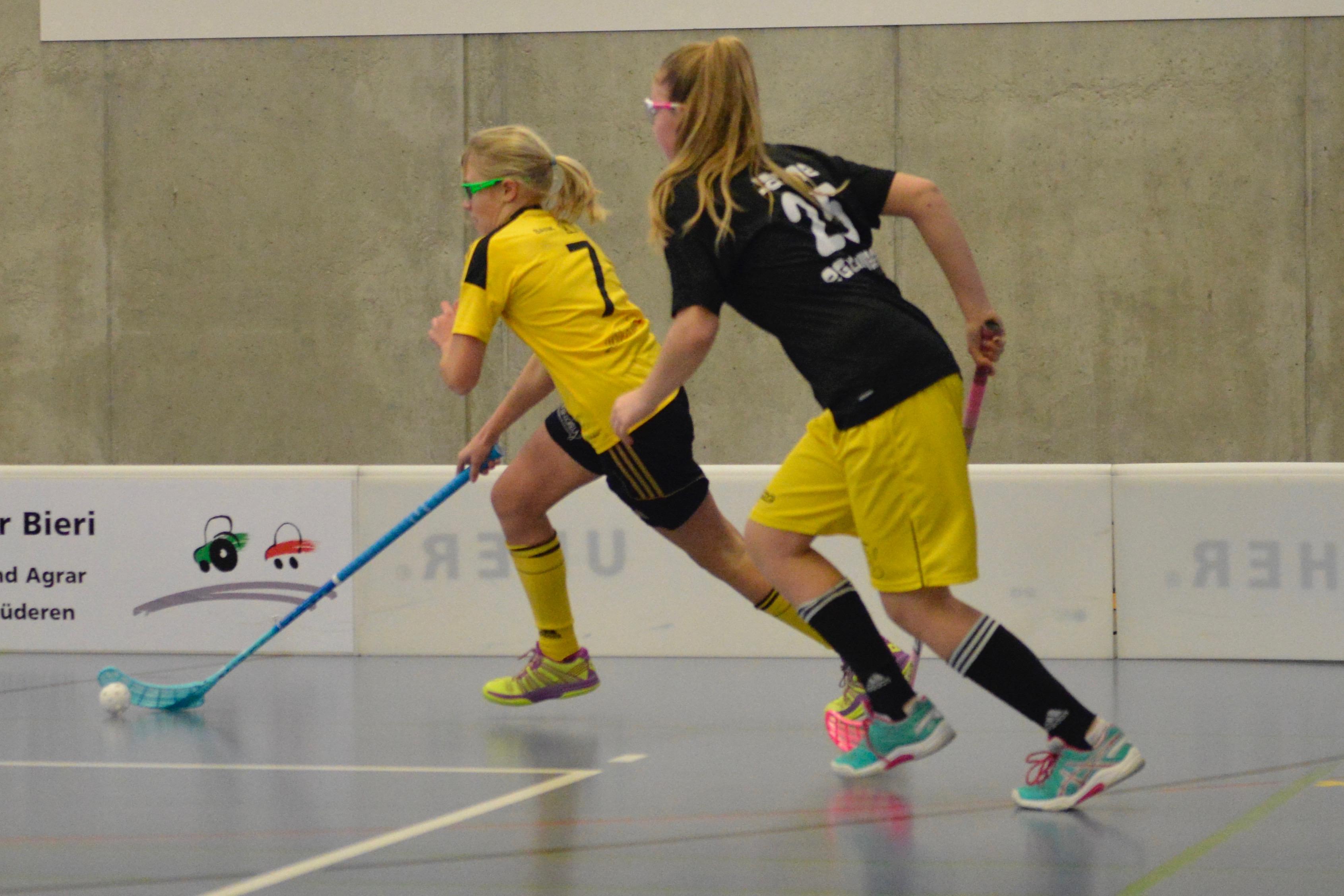 Juniorinnen C- UH Wilderswil Saison 2017/18