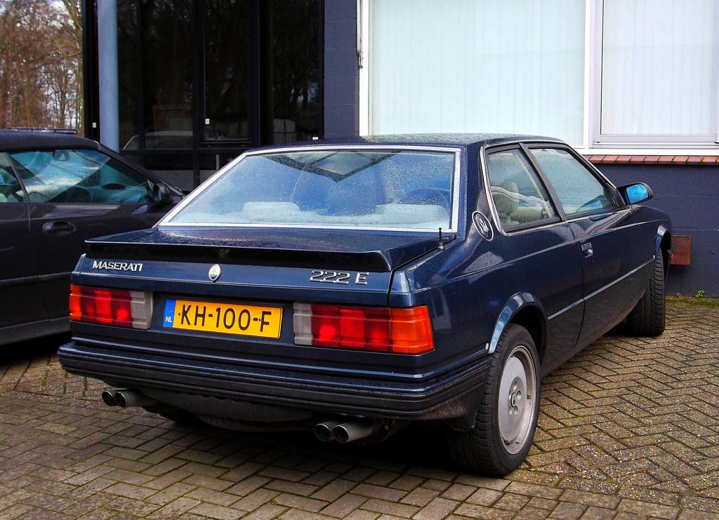 Maserati 222 E | 1989. | Dennis Elzinga | Flickr