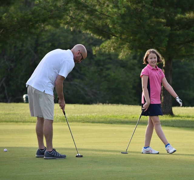2017 Girls Golf Dad & Me Play day