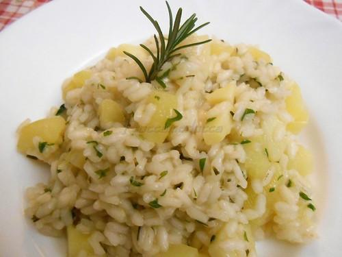Risotto patate rosmarino di Lia  0003 | by cheffina2012