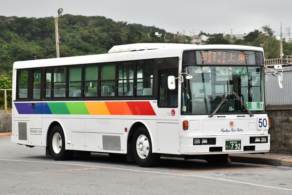 琉球バス交通 50 百名線 東風平...