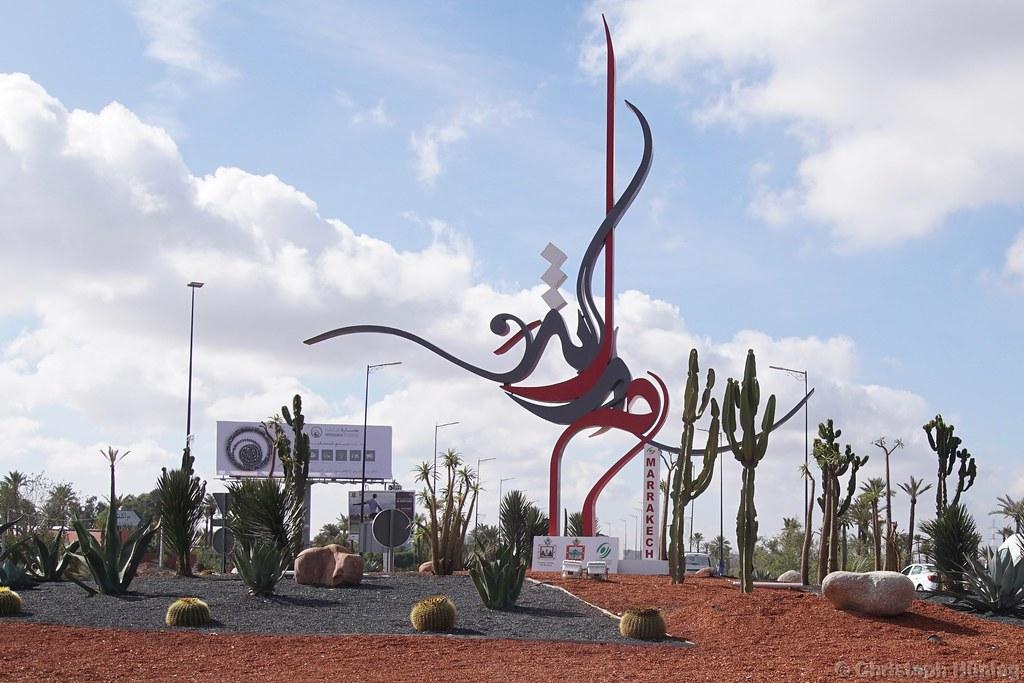 Marrakech - Rond Point de la Palmeraie | CHWVB | Flickr