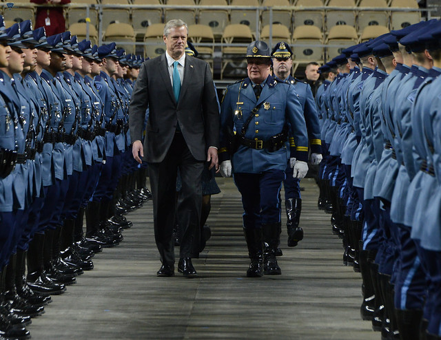 Graduation of the Massachusetts State Police 83rd Recruit Training Troop 01.25.18