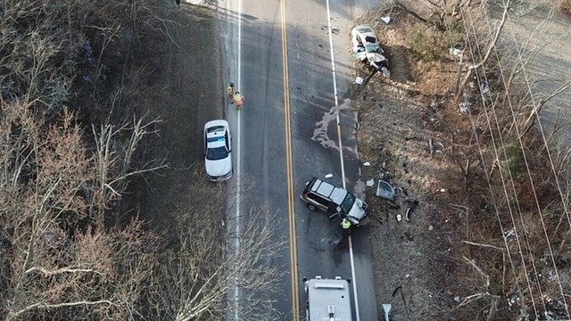 car crash cincinnati ohio febuary 2018