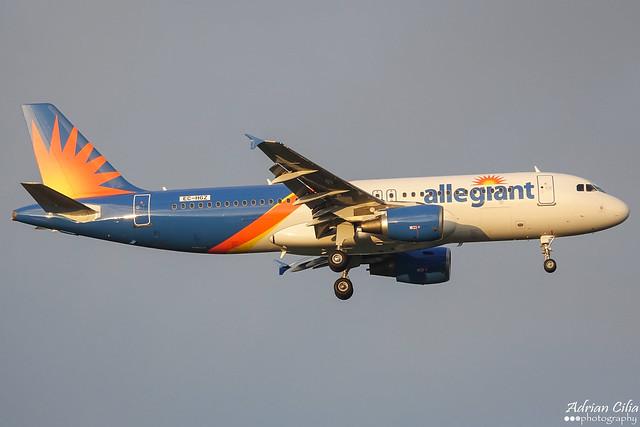 Allegiant Air --- Airbus A320 --- EC-HGZ