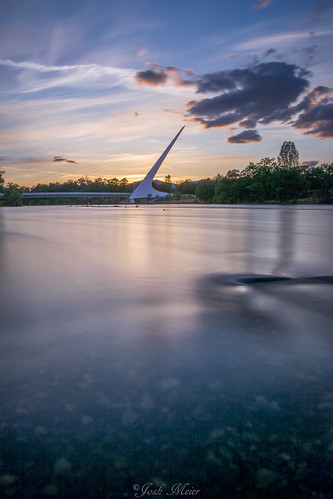 california longexposure bridge sunset sky sun water clouds river nikon sundial shasta sacramento redding turtlebay d5200