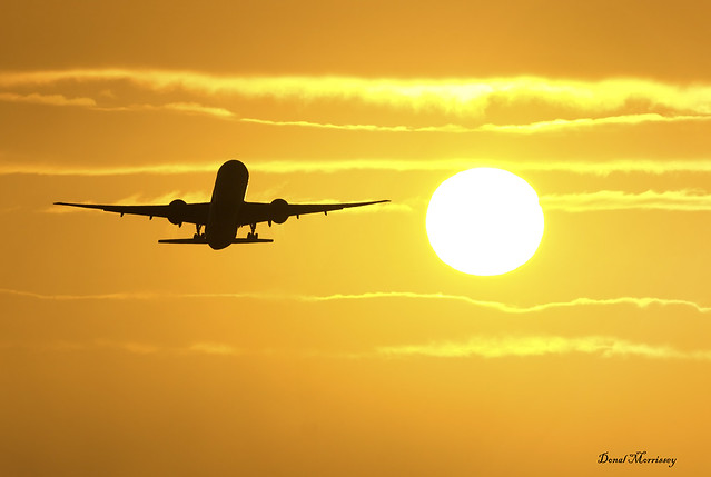 Hopping over the Sun at Shannon