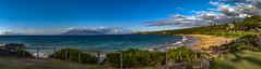 Maluaka Beach Panorama