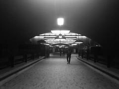 Métro Bonaventure passage, January 2017