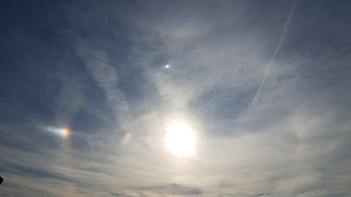usa southcarolina yorkcounty fortmill clouds unitedstatesofamerica halo outdoor fortmilltownship sc afternoon sky atmosphericphenomena atmosphere sundog northamerica opticalphenomena unitedstates us