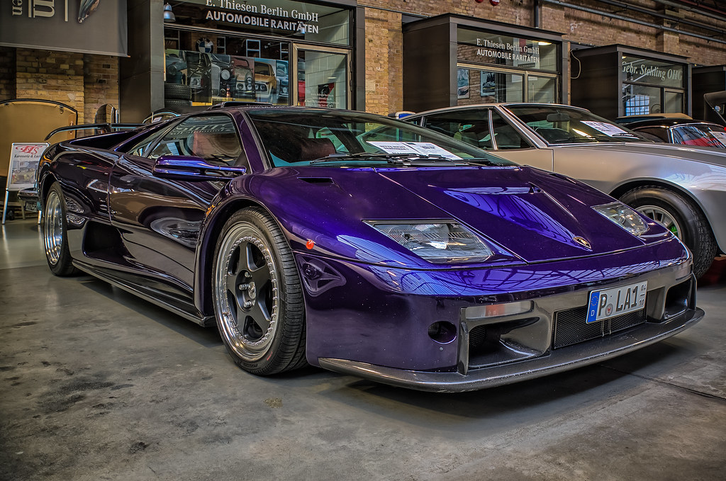 Purple Lamborghini Diablo Gt Peters Hdr Hobby Pictures Flickr