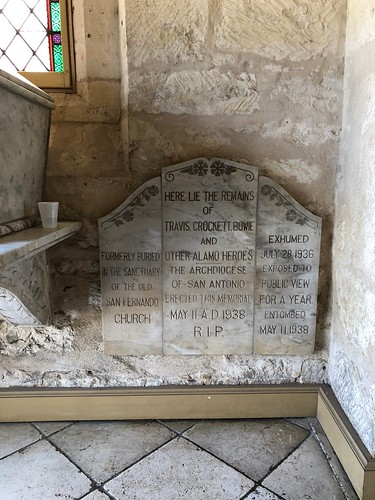 San Antonio - San Fernando Cathedral tombstone | by Pierre Yeremian