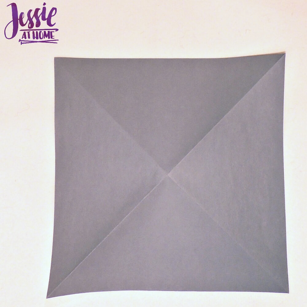 How To Fold An Origami Square Base - Folding Instructions ... | 1000x1000