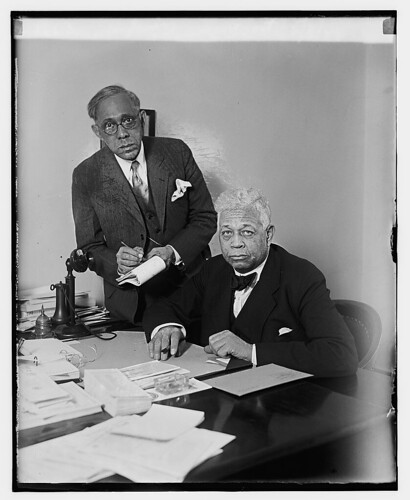 Aide Morris Lewis and Rep. Oscar DePriest: 1929 | by Washington Area Spark