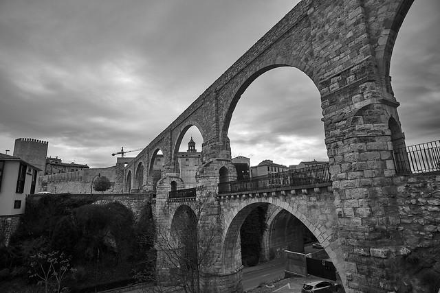 Los Arcos.