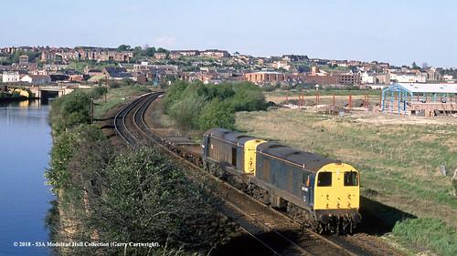 britishrail class20 20096 20025 diesel freight swintoncentral southyorkshire train railway locomotive railroad