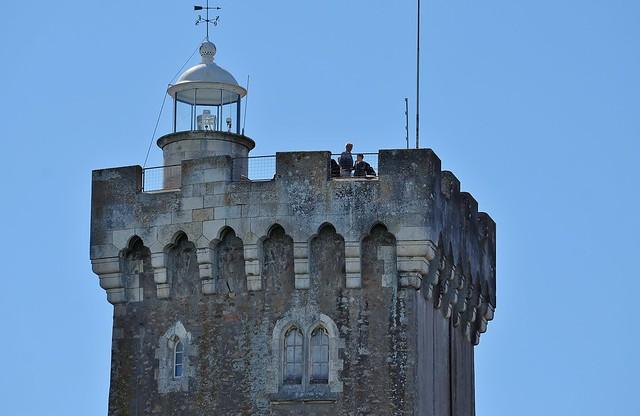 Les Sables d'Olonne, Le phare de la Chaume, ou feu de la tour d'Arundel
