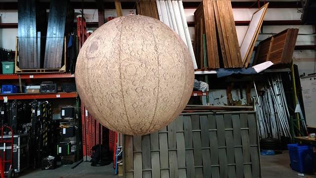 Custom moon lantern