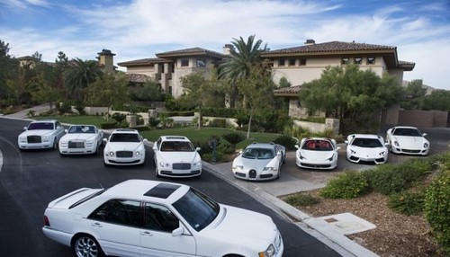 Stories About Rich People S Houses In Las Vegas