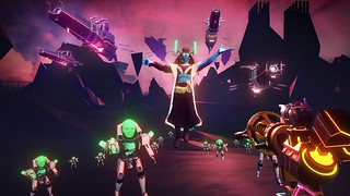 Blasters of the Universe for PS VR | by PlayStation.Blog